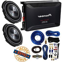 "Pioneer 12"" 1,500-Watt Shallow-Mount Subwoofer with Single"