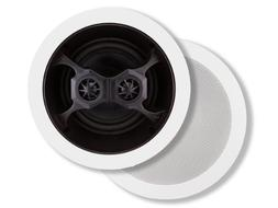 Monoprice 104619 Glass Composite 3-Way Dual Voice Coil In-Ce