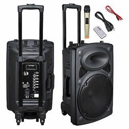 "12"" Professional Power Active 1200W DJ PA Speaker Bluetooth"