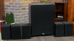 Monoprice 13773 5.1 Channel Home Theater Satellite Speakers