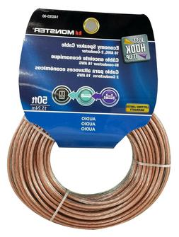 MONSTER 140283 Just Hook It Up  Economy Grade Speaker Cable,