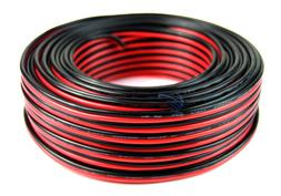 16 GA 100 FT Red and Black Power Ground Stranded Speaker Wir
