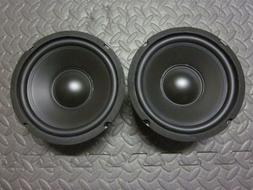 """6.5"""" Woofer Speakers.Pair.8 Ohm.baby a40 Replacement.6-1/2."""