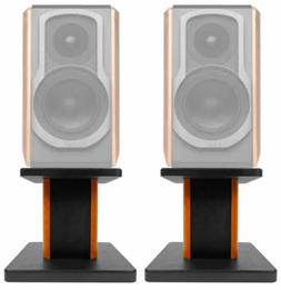 "8"" Wood Bookshelf Speaker Stands For Edifier S1000DB Book"