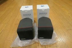 Bose Acoustimass Single Cube Speakers Black - NEW