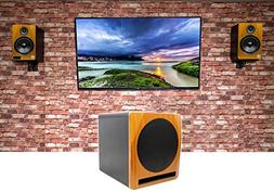 "2 Rockville HTS8C 8"" 1000w Bluetooth Home Theater Speakers+1"