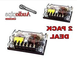 2 pack 2 Way Crossover CRX-203 400 Watts Passive Crossover C