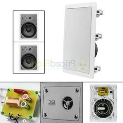 """2 Pack 6.5"""" Ceiling Speakers Wall Home Theater Speaker 8 Ohm"""