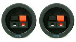 SPEAKER BOX  PUSH SPRING TERMINAL CUP CONNECTOR SUBWOOFER -