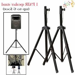 2Packs  Tripod DJ PA Speaker Stands Adjustable Height  Stabl