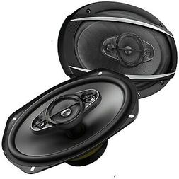 "2x Pioneer TS-A6970F 6"" x 9"" 600 Watts 4 Ohms 5-Way Car Audi"