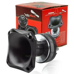 """3.5"""" Compression Driver Tweeter w/ ABS Horn 8 Ohm 75 Watts M"""