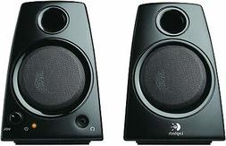 Logitech 3.5mm Jack Compact PC / Laptop Stereo Speakers in B