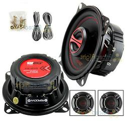 "DS18 4"" 2-Way Coaxial Speakers 120 Watts Max Power 4 ohm GEN"