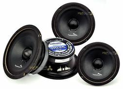 "4 Audiopipe APMB-6SB-C Two Pair 6-6.5"" Sealed Back Full Rang"