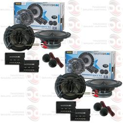 "4 x SOUNDSTREAM AC.6 6.5-INCH 6.5"" 2-WAY CAR AUDIO COMPONENT"
