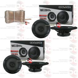 4 x KENWOOD KFC-1666S 6.5 INCH 2-WAY CAR AUDIO DOOR COAXIAL