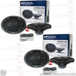 "4 x ALPINE SPJ-691C3 6"" x 9"" 6 x 9 INCH 3 WAY CAR AUDIO COAX"