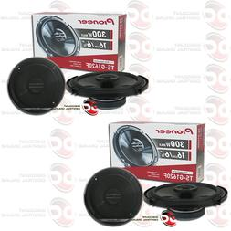 "4 x NEW PIONEER 6.5-INCH 6-1/2"" CAR AUDIO 2-WAY COAXIAL SPEA"
