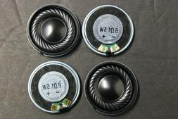 "4pcs 28mm 1.1""  8ohm 1.5W  Shell Internal Mini Speakers Magn"