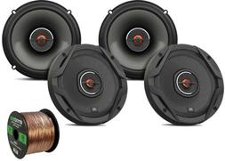 "4x JBL 6.5"" GX Series Coaxial Car Speakers - Bulk Packaging,"