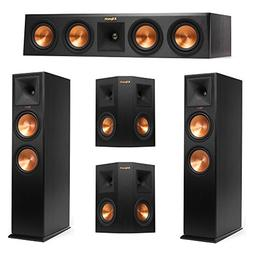 Klipsch 5.0 System with 2 RP-280F Tower Speakers, 1 RP-440C