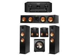 Klipsch 5.1 Ebony System with 2 RP-280F Tower Speakers, 1 RP