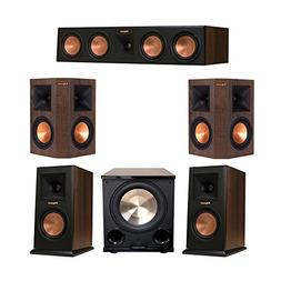 Klipsch 5.1 Walnut System Bundled with 2 RP-150M Monitor Spe
