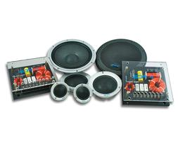 """PCA 6.5"""" Sound Quality 3-Way Component Speakers System"""