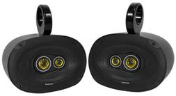 """Kicker 6x9"""" CSC Wakeboard Tower Rollbar Speakers for Boat/AT"""