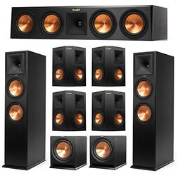 Klipsch 7.2 System with 2 RP-280F Tower Speakers, 1 RP-450C