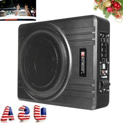 8'' 600W Car Under-Seat Active Subwoofer Power Amplifier Bas