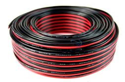 Audiopipe 100' Feet 18 GA Gauge Red Black 2 Conductor Speake