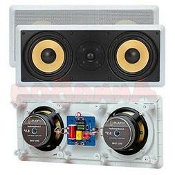 """Cmple - 2 x 6.5"""" Surround Sound 2-Way In-Wall/In-Ceiling Kev"""