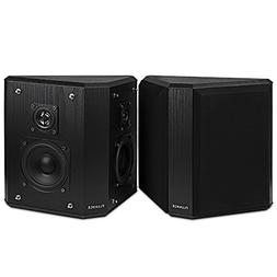 Fluance SXBP2 Home Theater Bipolar Surround Sound Speakers