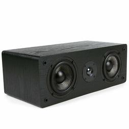Micca MB42-C Center Channel Speaker With Dual 4-Inch Carbon