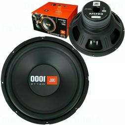 "NEW JBL CS1214 12-INCH 12"" 1000 WATTS SINGLE 4-OHMS CAR AUDI"