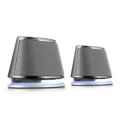 Satechi Dual Sonic Speaker 2.0 Channel Computer Speakers - C