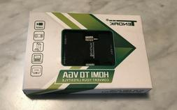 Tendak Active 1080P Female HDMI to VGA Male Converter Adapte