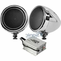Boss MC420B 600w Bluetooth Speakers+Amplifier Handlebar Syst
