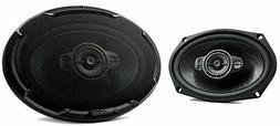 "AUTHENTIC Kenwood KFC-6996PS 650 Watts 6"" x 9"" 5-Way Car Aud"