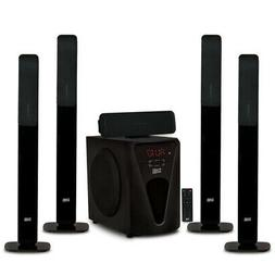 Acoustic Audio Bluetooth Tower 5.1 Home Speaker System with