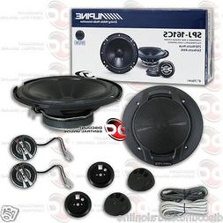 NEW ALPINE 6-INCH 2-WAY CAR AUDIO COMPONENT SPEAKERS  6""