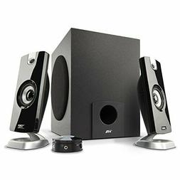 Cyber Acoustics CA-3090 Multimedia Speaker System - 2.1-chan