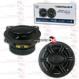 "BRAND NEW BLAUPUNKT 4"" 4-WAY CAR AUDIO COAXIAL SPEAKERS  480"