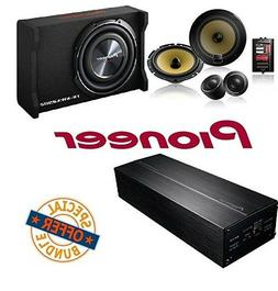 Pioneer Componet Speaker PackageTS-SWX2502 10 inch Shallow