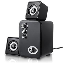 Computer Speakers, MeetuoSound USB Powered 2.1 Multimedia St