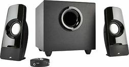 Cyber Acoustics 3-Piece Computer Speakers With Control Pod,