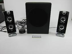 Cyber Auoustics 30 Watt Powered Speaker System with Subwoofe