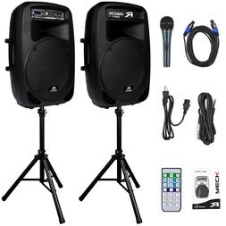 Reck Audio Dance 15 Portable 15-Inch 2000 Watt 2-Way Powered